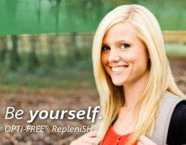 Opti Free RepleniSH be yourself