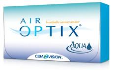 zkušební čočky Air Optix Aqua