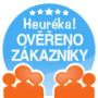 Heuréka certifikát Ověřeno zákazníky