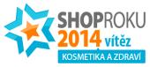 Shop Roku 2014 vítěz Kosmetika a zdraví