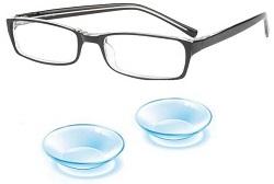 korekce brýlemi nebo čočkami