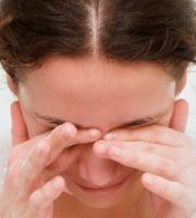 Syndrom suchého oka.
